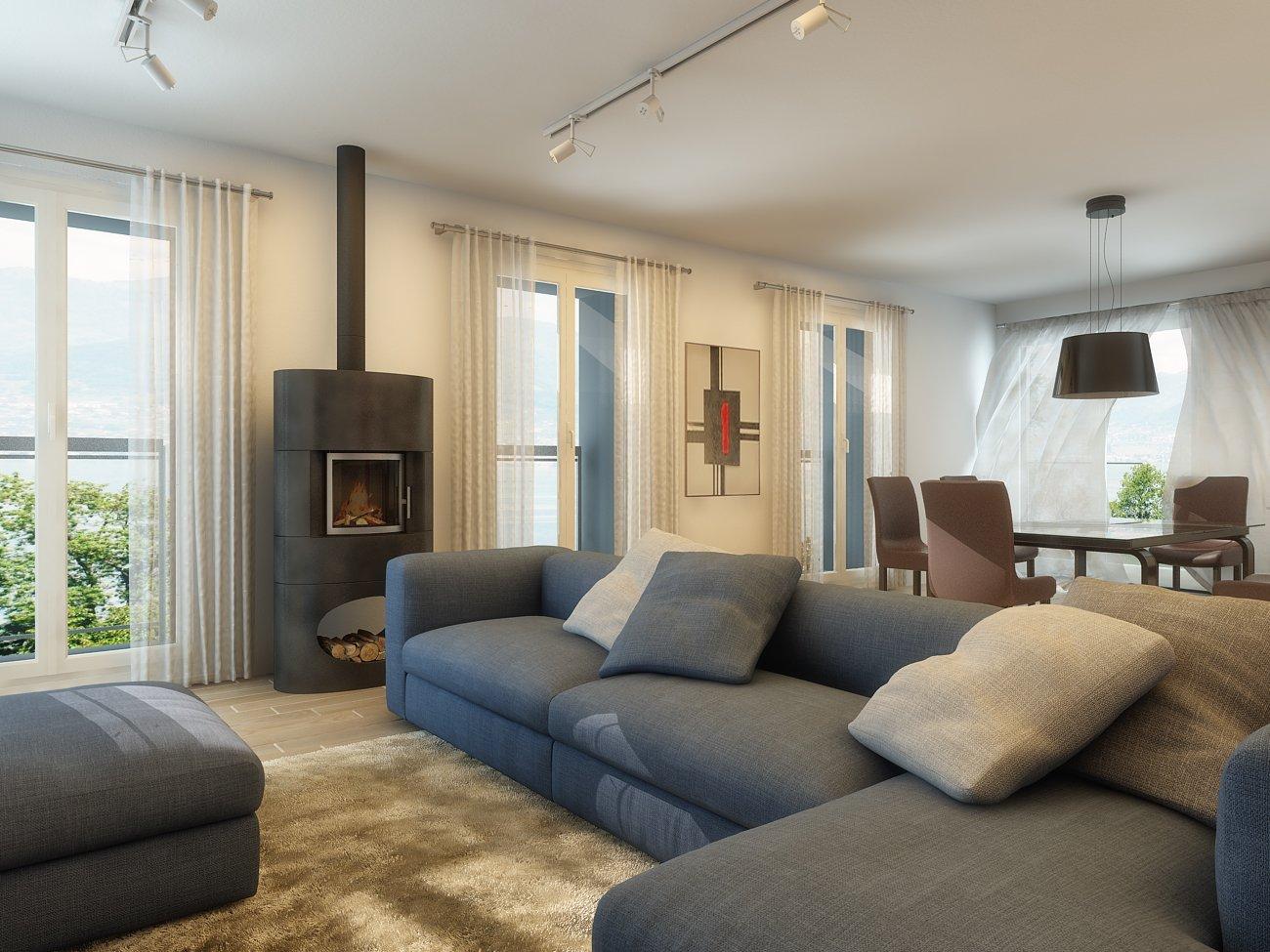 Bergamo rendering 3d fotorealistici interni ed esterni for Software architettura interni